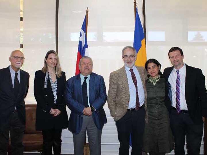 Dr.Garcia-Alix nombrado profesor visitante Universidad de Concepción