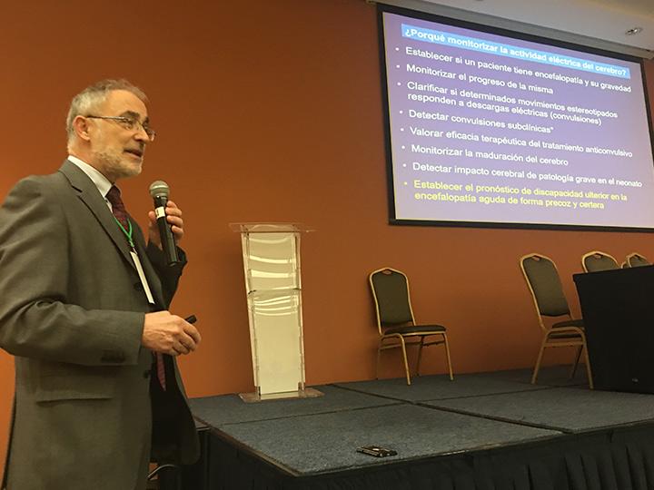 Ponencia del Doctor García-Alix en el congreso