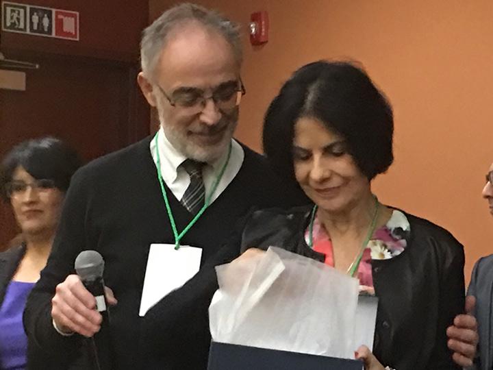Homenaje de la Fundación NeNe a la Doctora Victoria Lima
