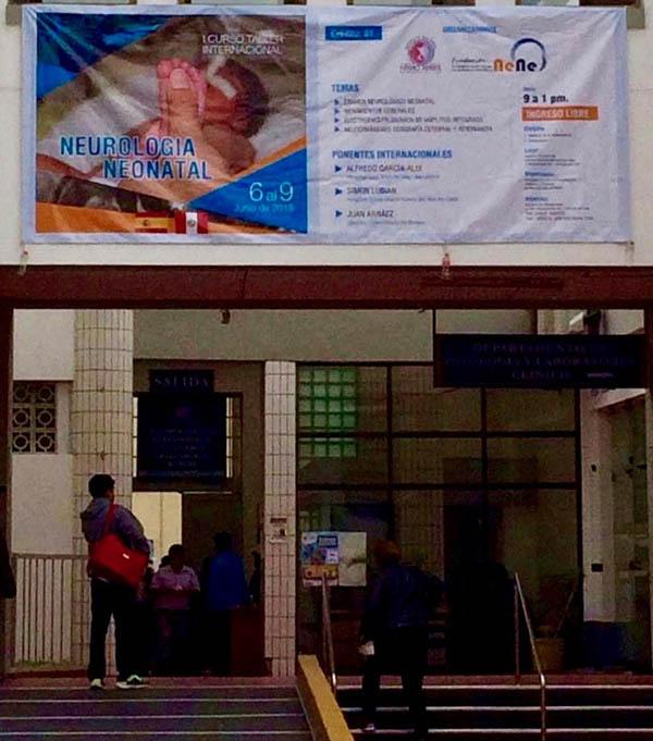 Maternidad de Lima, sede del curso